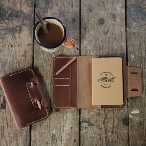 Notebookcover A6 (Braun) Bild 1