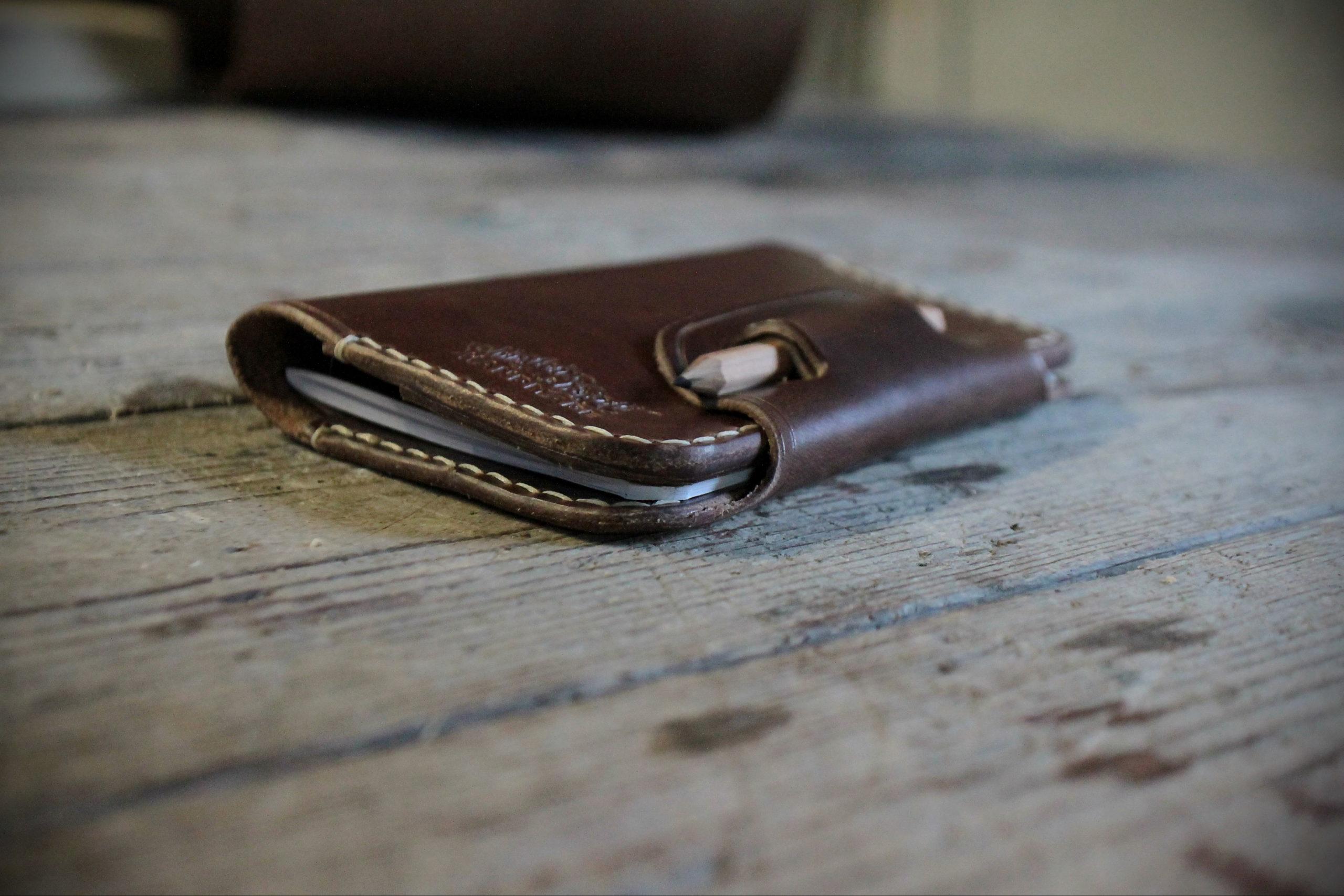 Notebookcover A6 (Braun) Bild 2