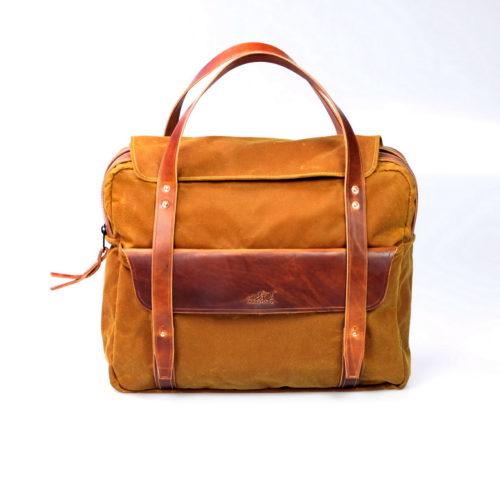 Canvas Briefcase (desert) Bild 1