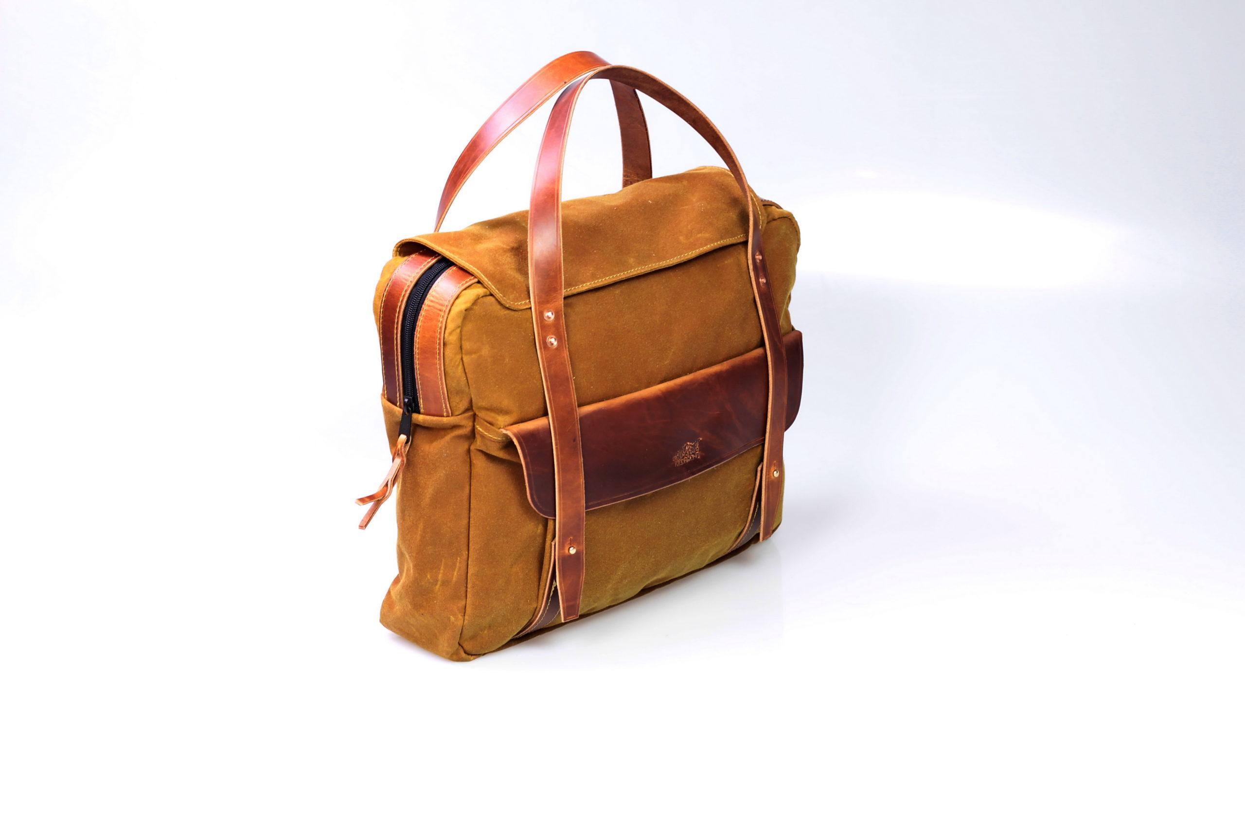 Canvas Briefcase (desert) Bild 2