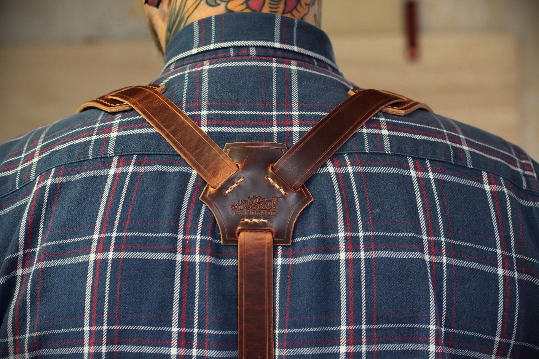 Leather Suspenders Bild 2