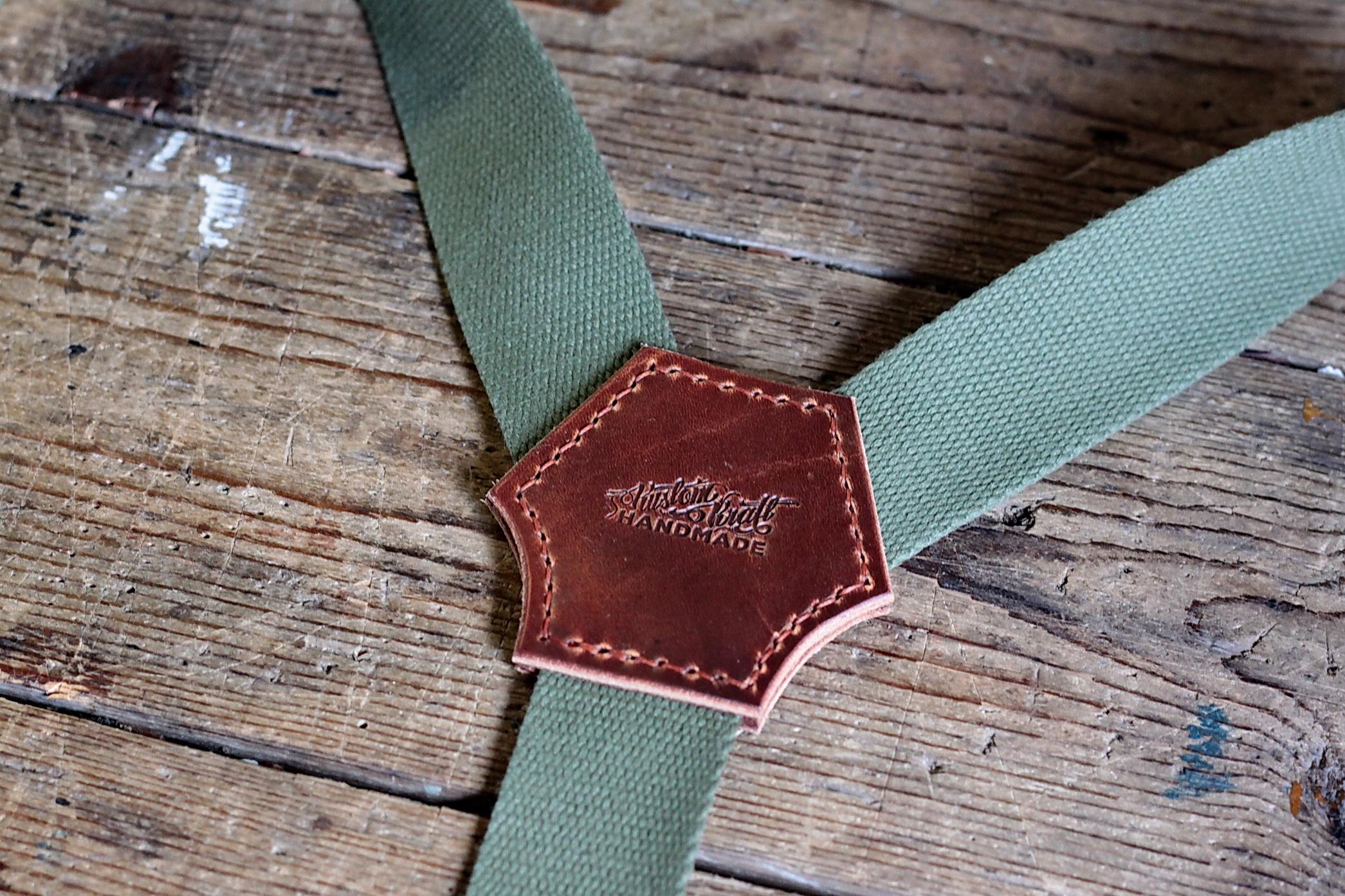 Vintage Suspenders (grün) Bild 2