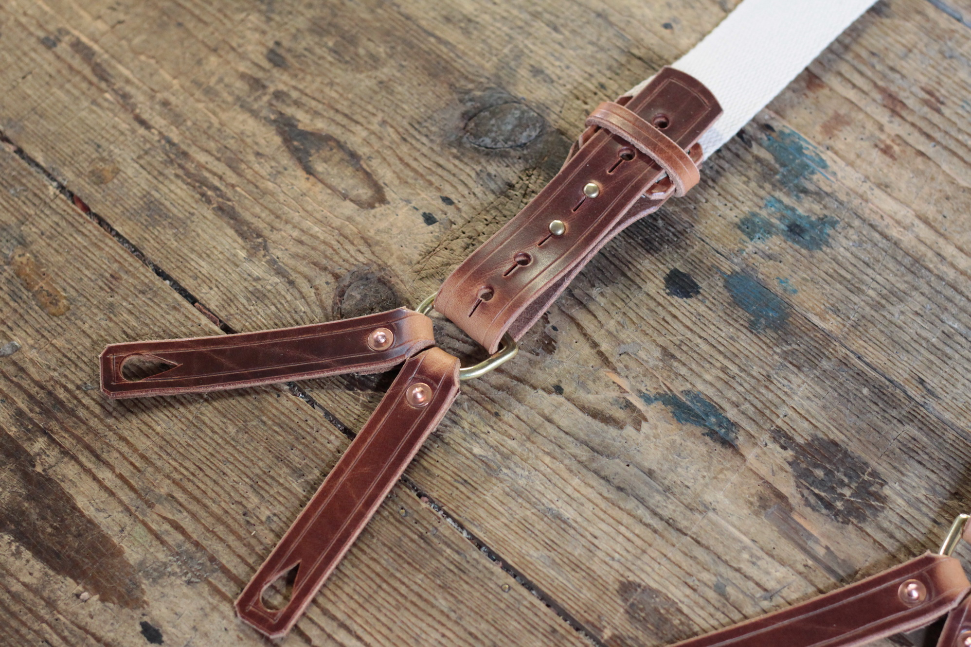 Vintage Suspenders (altweiß) Bild 2