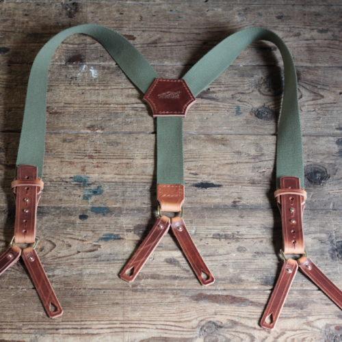 Vintage Suspenders (grün) Bild 1